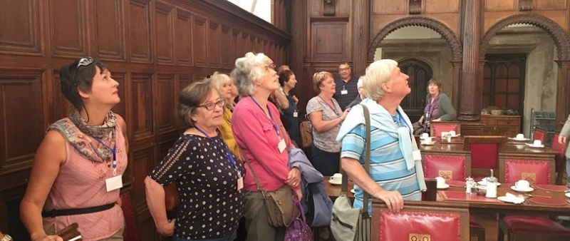 AGRA members visit Charterhouse
