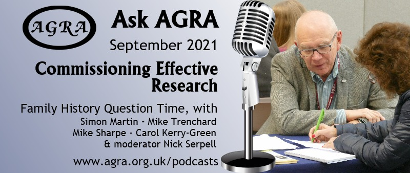 Ask AGRA - Family History Question Time - > Commissioning effective research